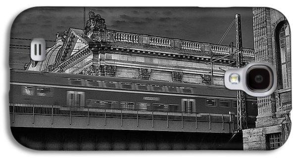 Buildin Galaxy S4 Cases - Fast Train Galaxy S4 Case by David Resnikoff