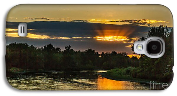 Father's Day Sunset Galaxy S4 Case by Robert Bales