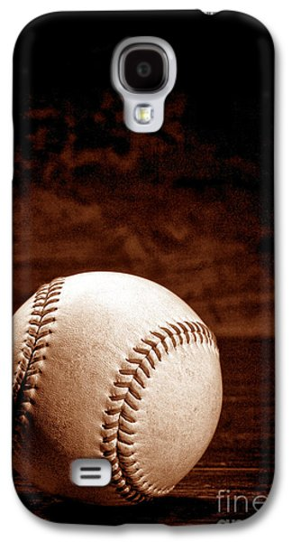 Baseball Photographs Galaxy S4 Cases - Favorite Pastime  Galaxy S4 Case by Olivier Le Queinec
