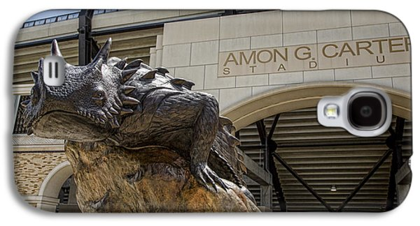 Landmarks Photographs Galaxy S4 Cases - Fear The Frog - TCU 4 Galaxy S4 Case by Stephen Stookey
