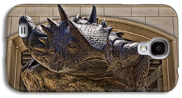 Landmarks Photographs Galaxy S4 Cases - Fear The Frog - TCU Galaxy S4 Case by Stephen Stookey