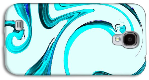 Feeling Of The Rain Galaxy S4 Case by Abstract Angel Artist Stephen K