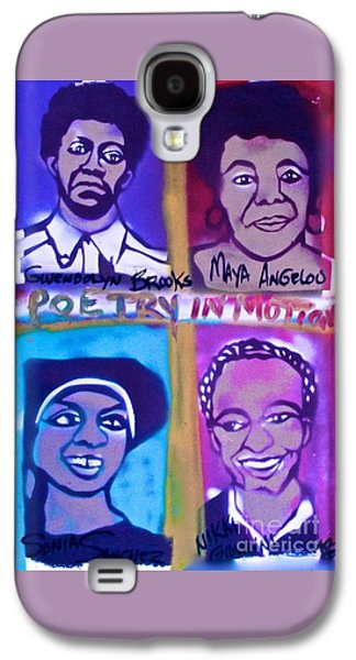 African-american Galaxy S4 Cases - Female POETS in Motion Galaxy S4 Case by Tony B Conscious