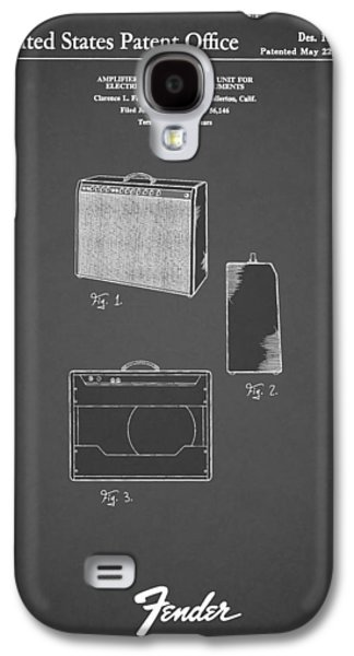 Music Photographs Galaxy S4 Cases - Fender Amp 1962 Galaxy S4 Case by Mark Rogan