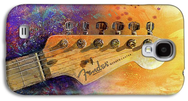Fender Head Galaxy S4 Case by Andrew King