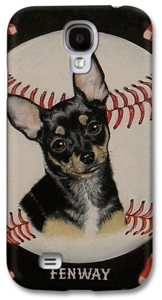 Red Sox Paintings Galaxy S4 Cases - Fenway Galaxy S4 Case by Judith Killgore