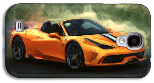 French Open Mixed Media Galaxy S4 Cases - Ferrari 1a Galaxy S4 Case by Brian Reaves