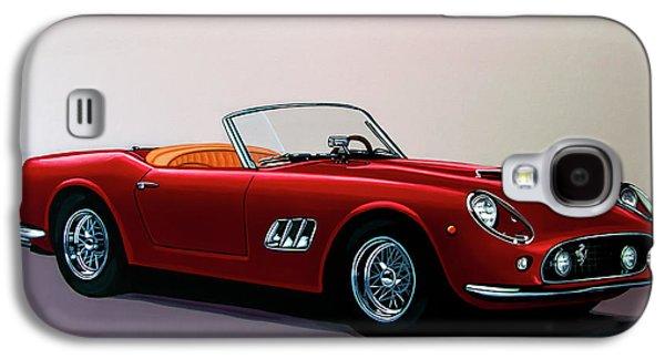 Ferrari 250 Gt California Spyder 1957 Painting Galaxy S4 Case by Paul Meijering