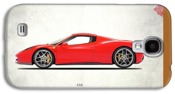 Classic Cars Photographs Galaxy S4 Cases - Ferrari 458 Italia Galaxy S4 Case by Mark Rogan