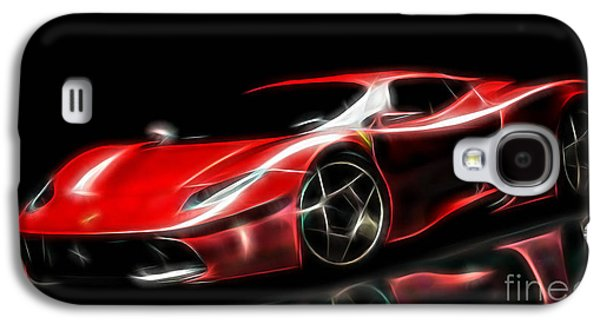 Race Galaxy S4 Cases - Ferrari Collection Galaxy S4 Case by Marvin Blaine