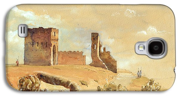 Orientalists Galaxy S4 Cases - Fes Morocco orientalist painting Galaxy S4 Case by Juan  Bosco