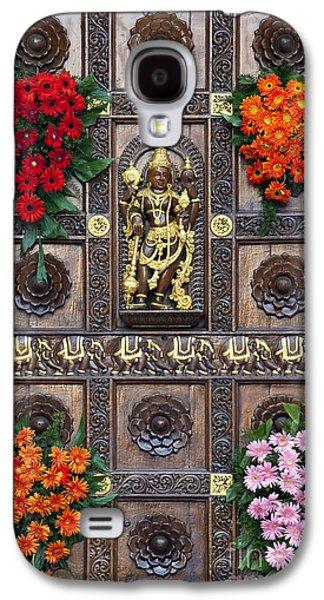 Hindu Goddess Photographs Galaxy S4 Cases - Festival Gopuram Gate Galaxy S4 Case by Tim Gainey