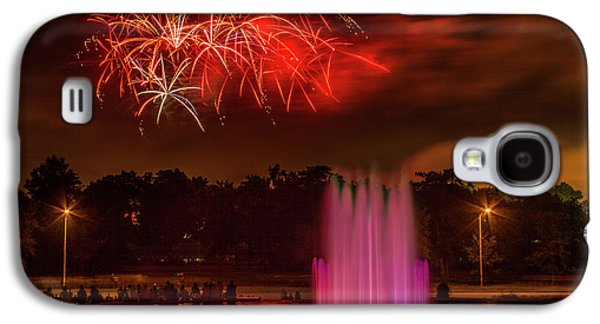 Fair St Louis 4th Of July Fireworks Galaxy S4 Case by Garry McMichael