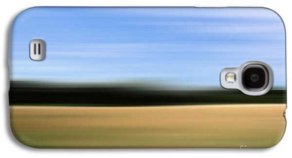 Abstract Digital Photographs Galaxy S4 Cases - Field abstract Galaxy S4 Case by SK Pfphotography