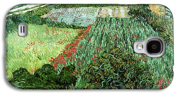 Field With Poppies Galaxy S4 Case by Vincent Van Gogh