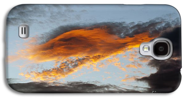 Nature Abstracts Galaxy S4 Cases - Fiery Cloud Galaxy S4 Case by Michal Boubin