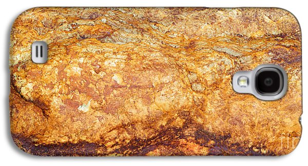 Nature Abstract Galaxy S4 Cases - Fiery Mountain Galaxy S4 Case by Tim Gainey