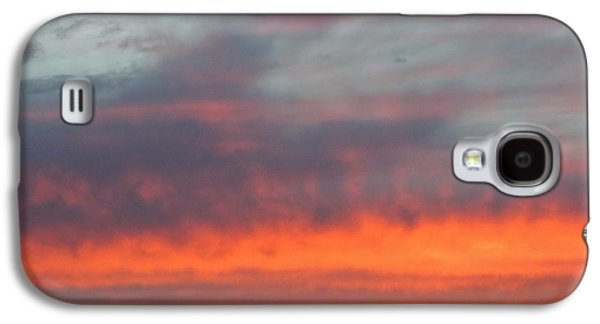 Contemplative Photographs Galaxy S4 Cases - Fiery Sunset Galaxy S4 Case by Margaret Bobb
