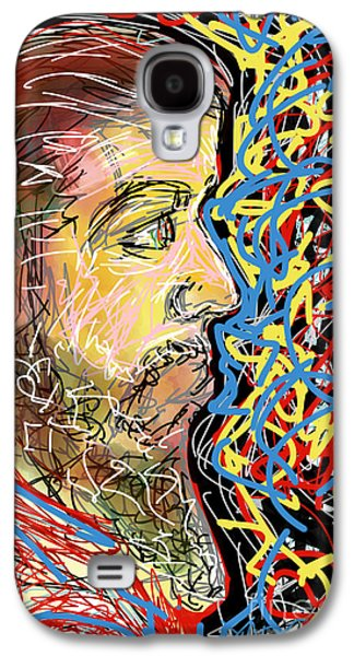 Abstract Forms Galaxy S4 Cases - Fifteen Minute Beard Galaxy S4 Case by Robert Yaeger