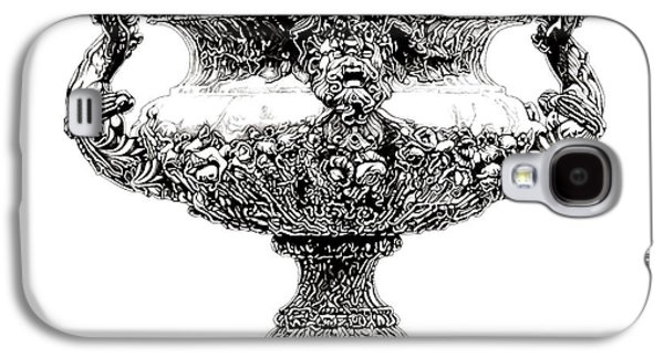 European Sculptures Galaxy S4 Cases - Figural Urn _ V1 Galaxy S4 Case by Bruce Algra