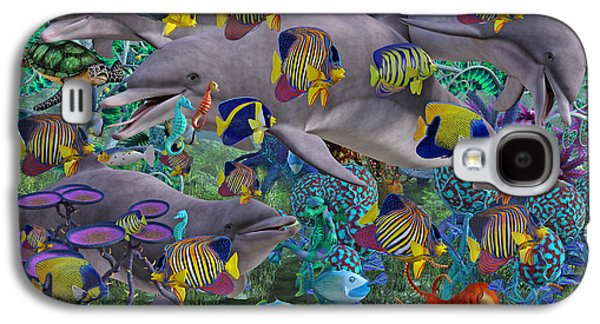 Find The Sea Dragon Galaxy S4 Case by Betsy C Knapp
