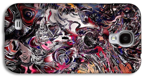 Recently Sold -  - Abstract Digital Digital Galaxy S4 Cases - Finding Savage Colors in another Kingdom. Galaxy S4 Case by Stephen  Killeen