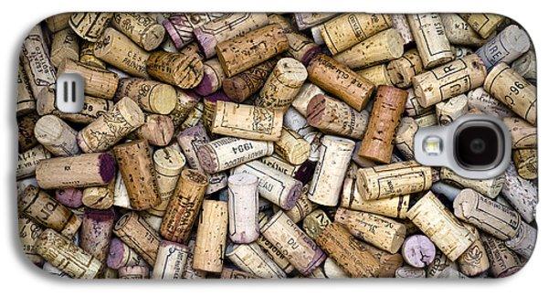 Fine Wine Corks Galaxy S4 Case by Frank Tschakert