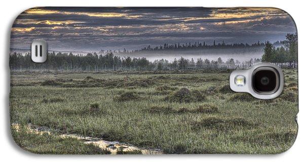 Fens Galaxy S4 Cases - Finnish Moorland Galaxy S4 Case by Heiko Koehrer-Wagner