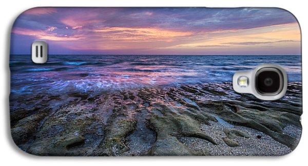 Sanddunes Galaxy S4 Cases - Fire at Sea Galaxy S4 Case by Debra and Dave Vanderlaan