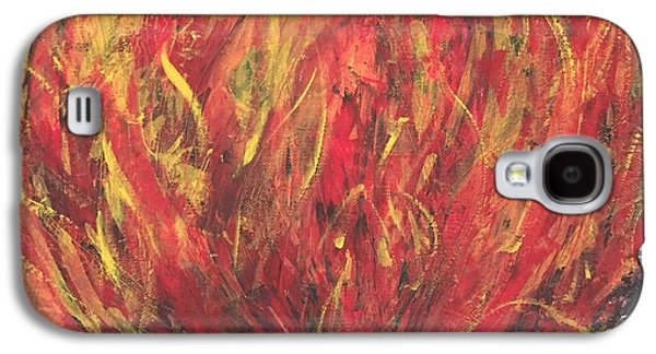 Abstracted Galaxy S4 Cases - Fire II. Galaxy S4 Case by Agota Horvath