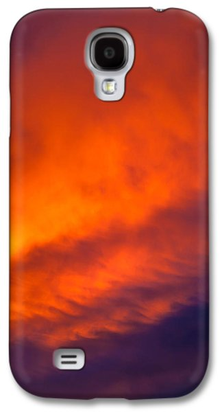 Raging Galaxy S4 Cases - Fire In The Belly Galaxy S4 Case by Az Jackson