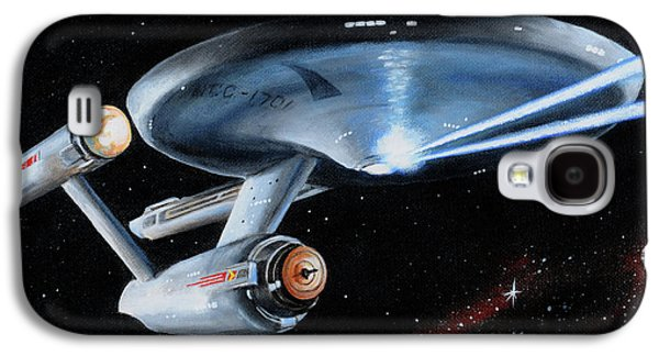 Fire Phasers Galaxy S4 Case by Kim Lockman