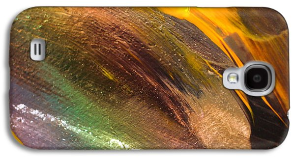 Fire Storm Abstract Galaxy S4 Case by Jeff Swan