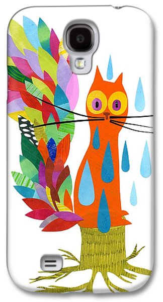 Tree Roots Mixed Media Galaxy S4 Cases - Firefox Galaxy S4 Case by Anne Vasko