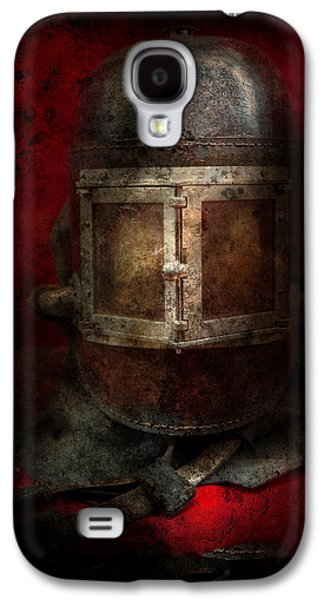 Creepy Galaxy S4 Cases - Fireman - The Mask Galaxy S4 Case by Mike Savad