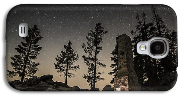 Dreamscape Galaxy S4 Cases - Fireplace under the Stars Galaxy S4 Case by Tony Fuentes