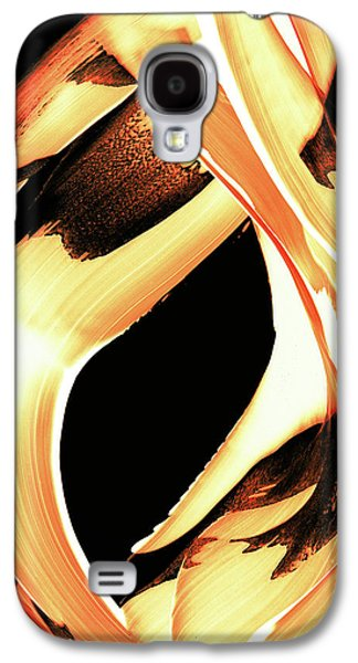 Fire Galaxy S4 Cases - FireWater 1 - Buy Orange Fire Art Prints Galaxy S4 Case by Sharon Cummings