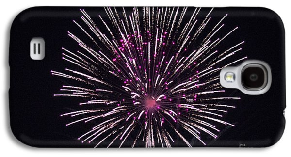 4th July Galaxy S4 Cases - Firework 1 Galaxy S4 Case by Howard Tenke