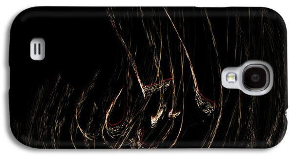 Abstracts Galaxy S4 Cases - Firework Energy #2 Galaxy S4 Case by Catherine Lau