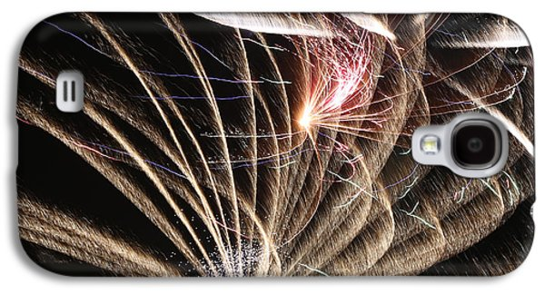 Abstracted Galaxy S4 Cases - Fireworks Abstract 35 2015 Galaxy S4 Case by Mary Bedy
