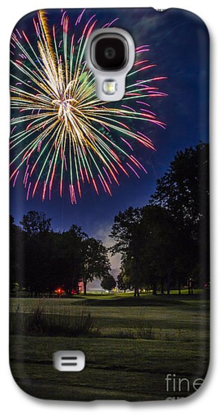 4th July Galaxy S4 Cases - Fireworks Beauty Galaxy S4 Case by Joann Long