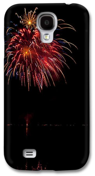 4th July Galaxy S4 Cases - Fireworks II Galaxy S4 Case by Christopher Holmes