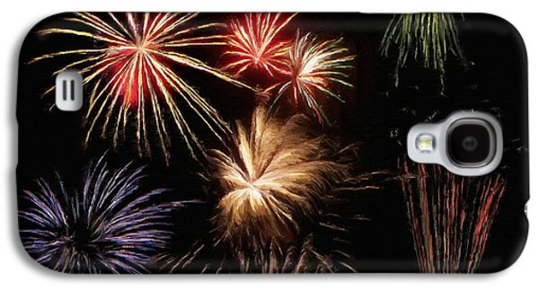 4th July Galaxy S4 Cases - Fireworks Galaxy S4 Case by Jeff Kolker