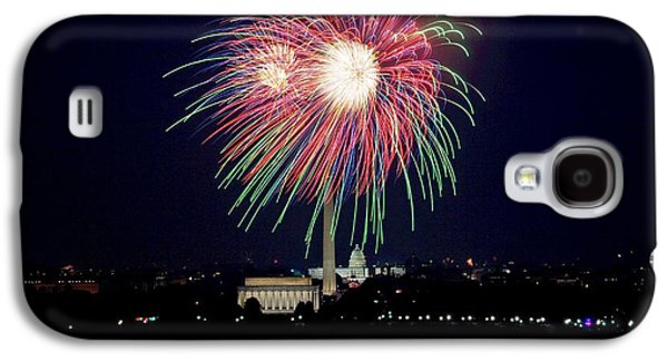 American Independance Galaxy S4 Cases - Fireworks over the Pentagon Galaxy S4 Case by FL collection