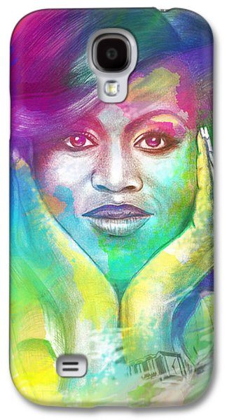 First Lady Obama Galaxy S4 Case by AC Williams