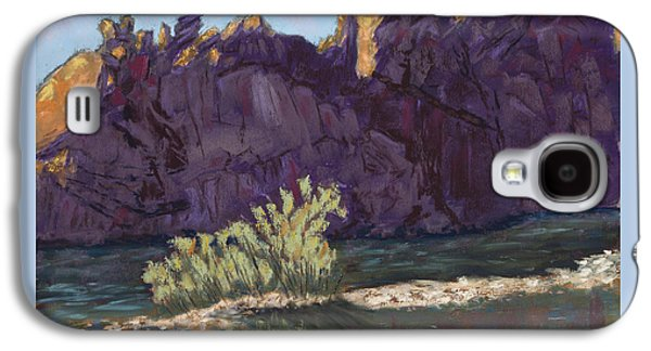 Fort Collins Galaxy S4 Cases - First Light at Picnic Rock Galaxy S4 Case by Mary Benke