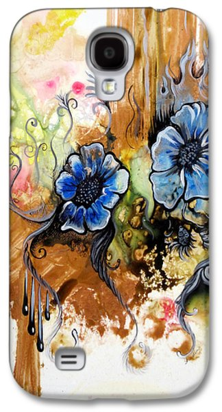 First Light In The Garden Of Eden II Galaxy S4 Case by Shadia Zayed