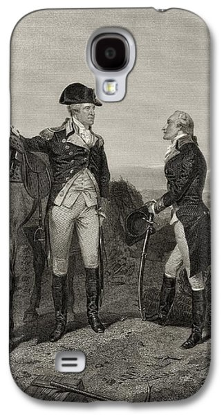 America First Party Galaxy S4 Cases - First Meeting Of George Washington 1732 Galaxy S4 Case by Vintage Design Pics