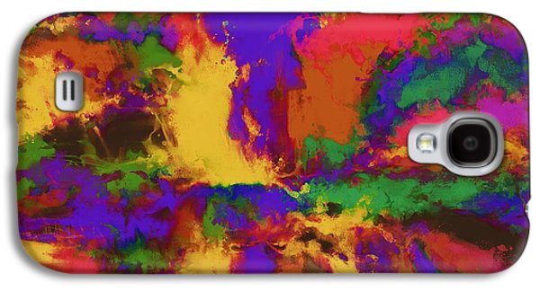 Loose Style Digital Art Galaxy S4 Cases - First moment Galaxy S4 Case by Keith Mills