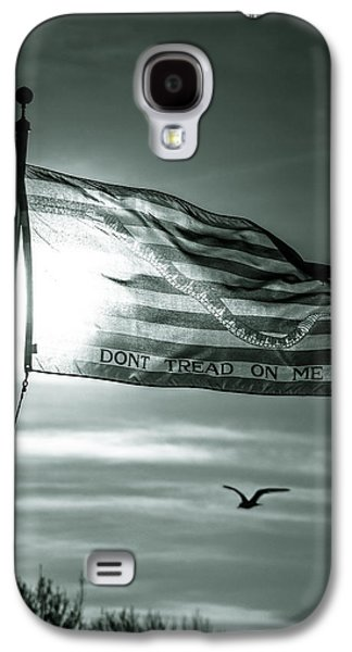 America First Party Galaxy S4 Cases - First Navy Jack Galaxy S4 Case by Chris Bordeleau